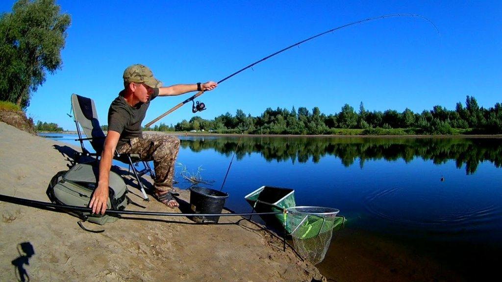 Рыбалка в стоячей воде
