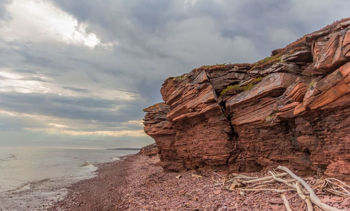 Терский берег скалы