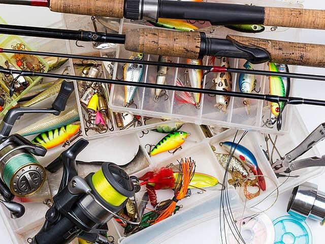 Спиннинг для рыбалки