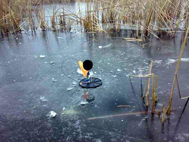 Ловля щуки с под льда