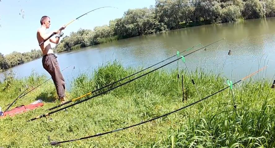 Рыбалка в июне месяце
