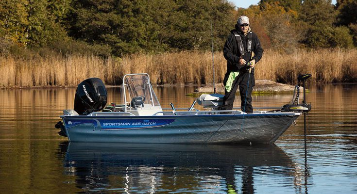 Алюминиевая лодка – лучший выбор для настоящего рыбака