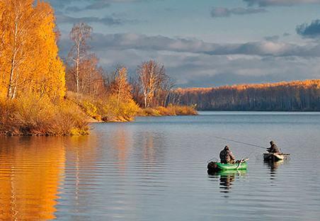 Рыбалка осенью на поплавковую снасть