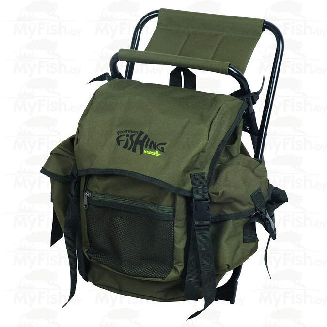 Стул-рюкзак для рыбалки