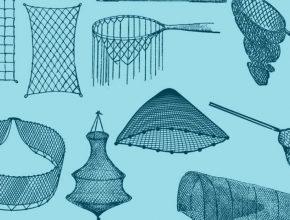 Виды рыболовных сетей